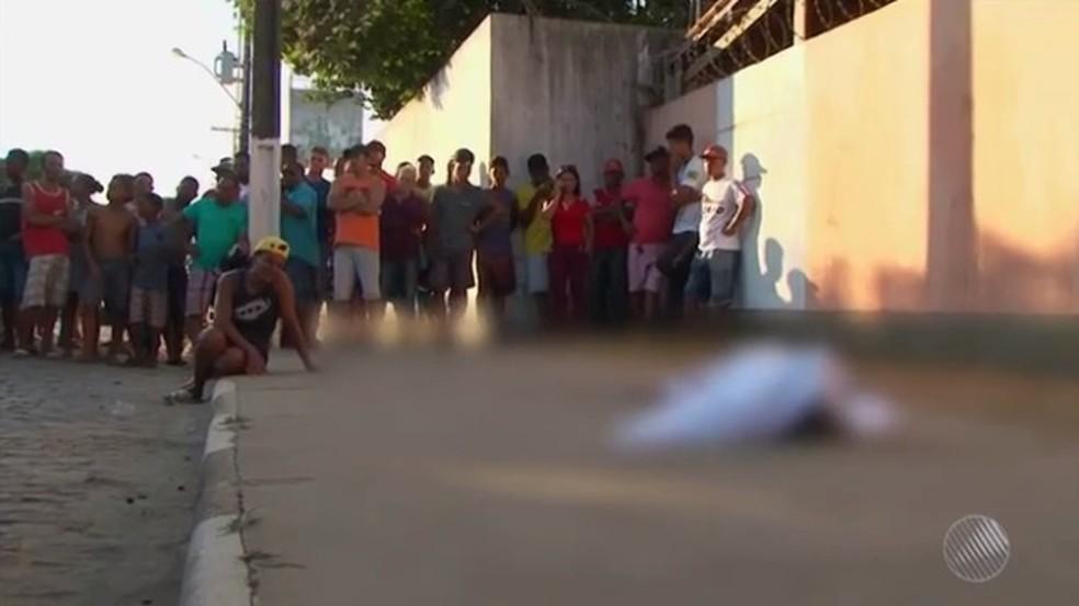 Bahia tem mais de 6 mil mortes violentas em 2017; tipo de crime reduziu no interior do estado  (Foto: Reprodução/TV Subaé)