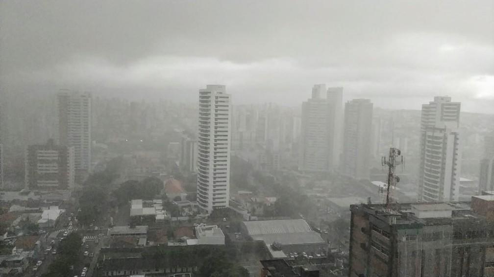 Inmet emite alerta de acumulado de chuvas para 43 cidades do RN - foto de arquivo — Foto: Pedro Vitorino/Cedida