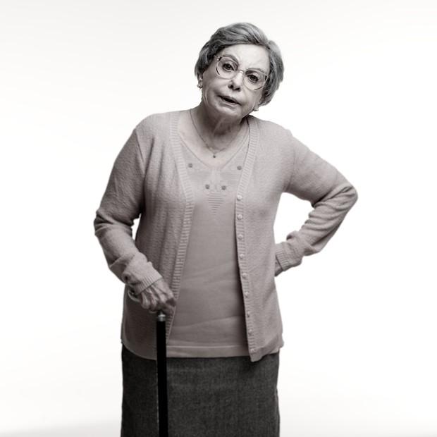 Beatriz Segall em Os Experientes (2015) (Foto: Globo/Jairo Goldflus)