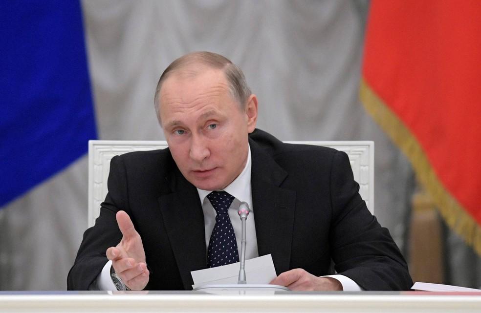 Presidente da Rússia, Vladimir Putin, em imagem de arquivo (Foto: Alexei Druzhinin/Sputnik/Reuters)