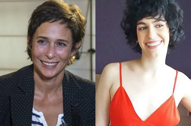 Andréa Beltrão e Maria Flor (Foto: TV Globo)