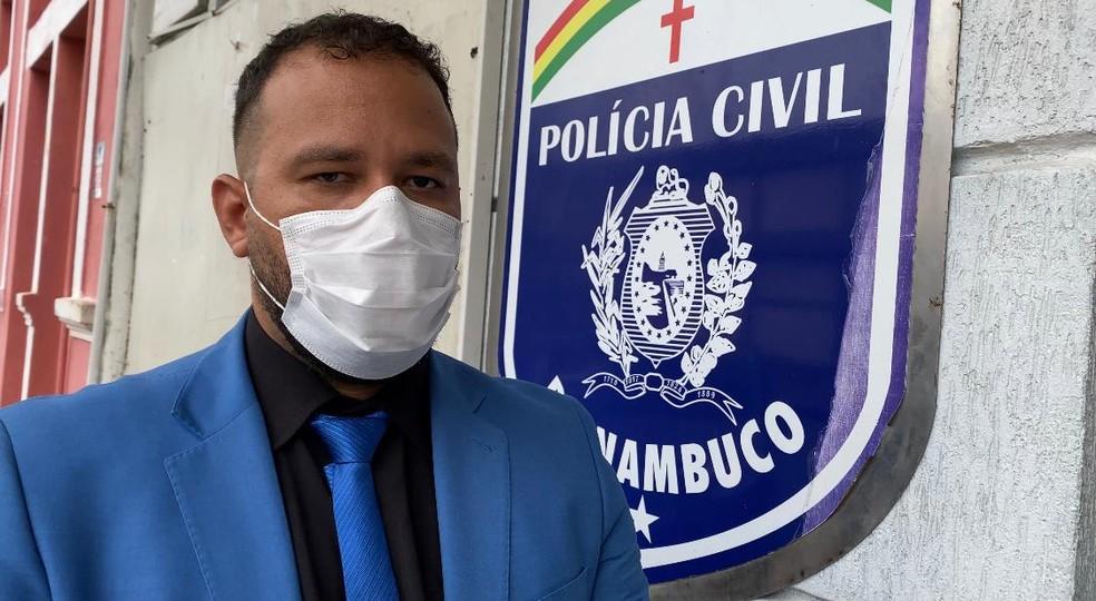 Advogado Rafael Nunes, que defende PMs envolvidos em agressão a vereadora e omissão de socorro — Foto: Priscilla Dantas/G1