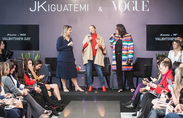 Vivian Sotocorno, Donata Meirelles e Silvia Rogar (Foto: Cleybi Trevisan e David Mazzo )