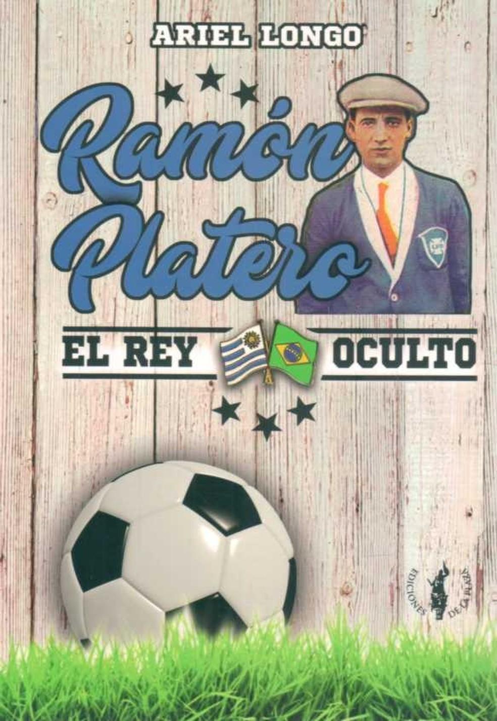 A capa do livro sobre Ramon Platero — Foto: Reprodução