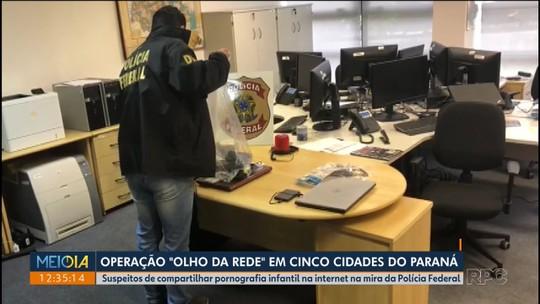 PF prende três suspeitos em operação contra pornografia infantil na internet no Paraná