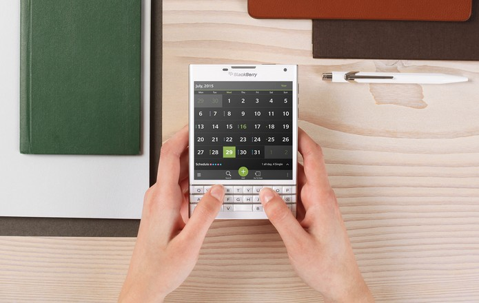 BlackBerry Passport (Foto: Divulgação/BlackBerry)