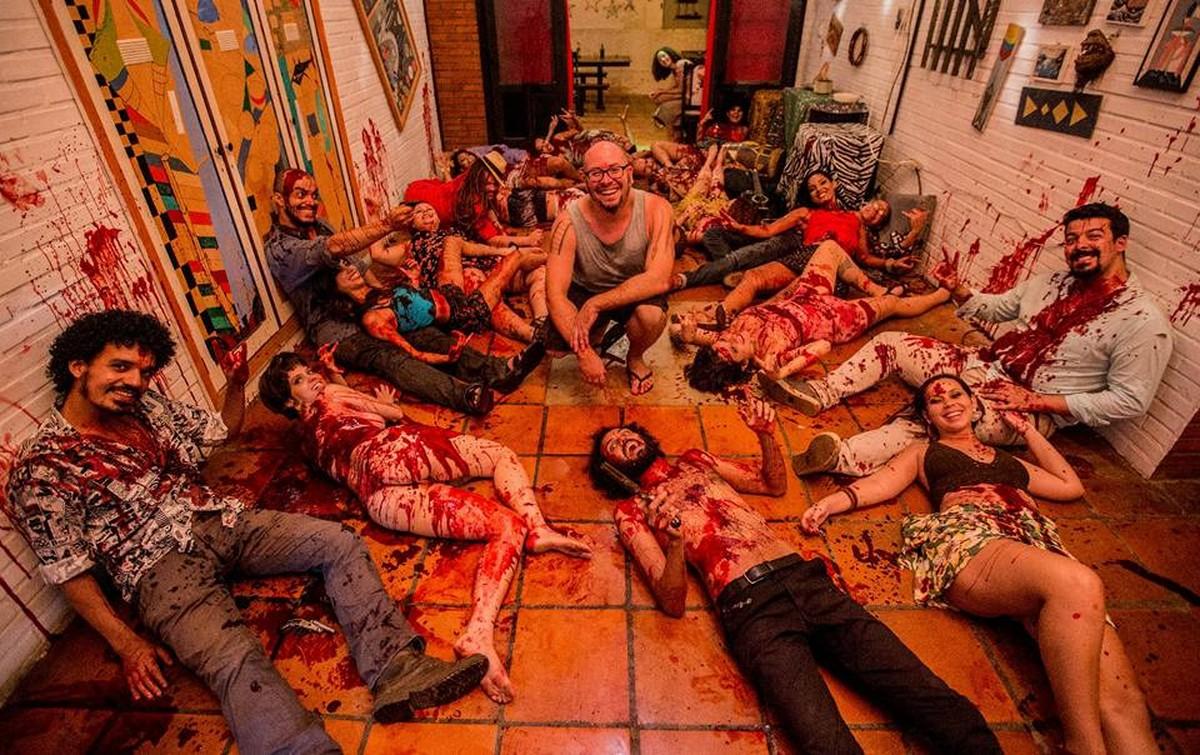 Cineasta Rodrigo Aragão dá curso de maquiagem especial e ferimentos em 3D em Cuiabá