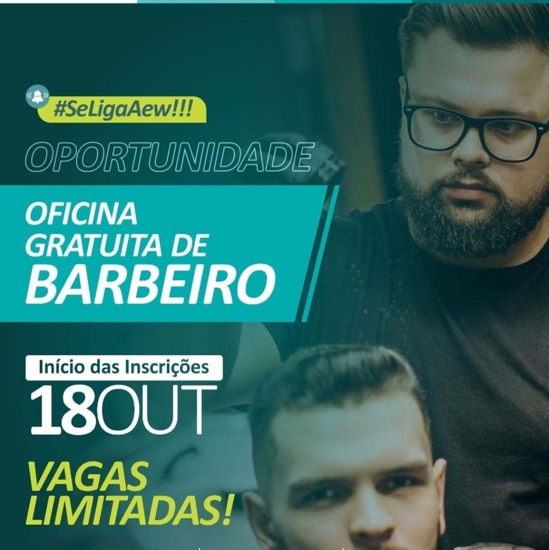 Três Rios abre vagas para oficina gratuita de barbeiro; saiba como participar