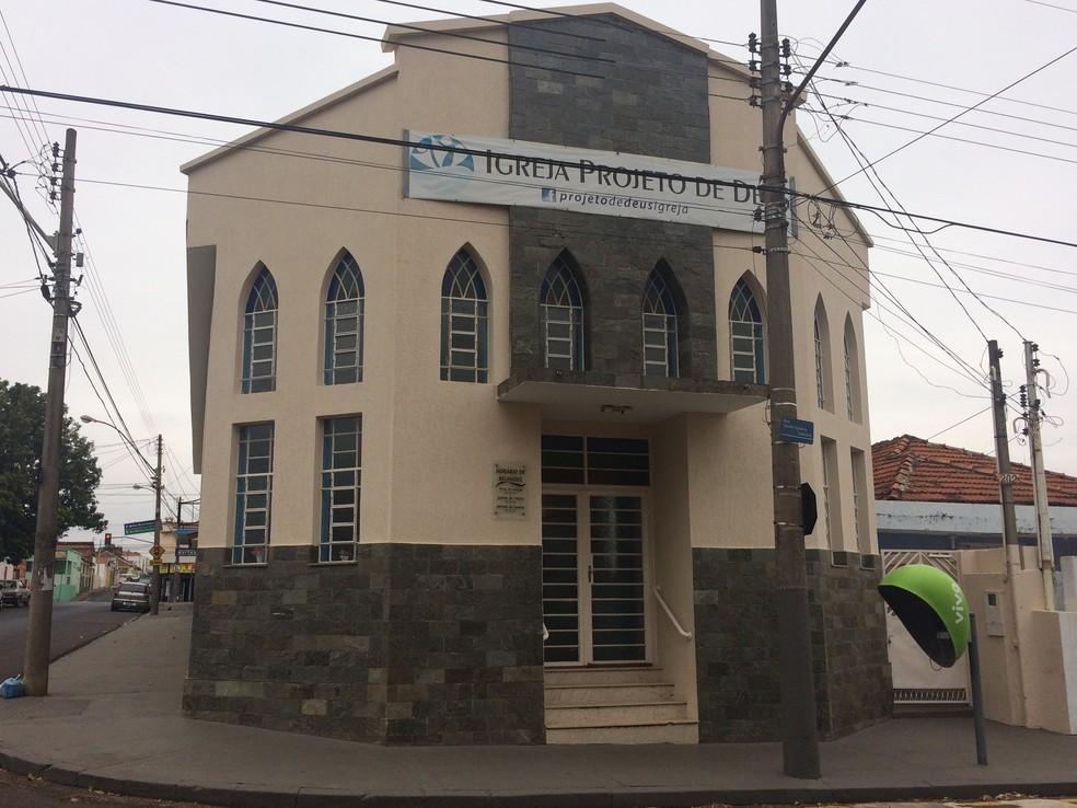 Igreja Projeto de Deus em São Carlos (SP) (Foto: Ana Marin/G1)