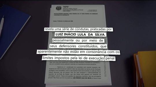 MPF diz que Lula transformou cela em 'comitê de campanha'