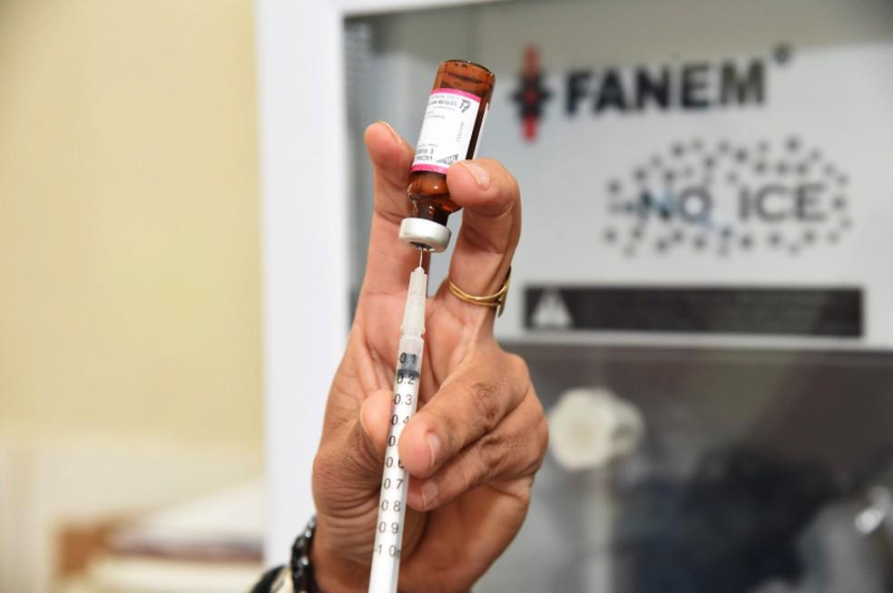 'Dia D' da Campanha Nacional de Vacinação contra o Sarampo começa nessa sábado (15) — Foto: Gustavo Duarte/Prefeitura de Cuiabá
