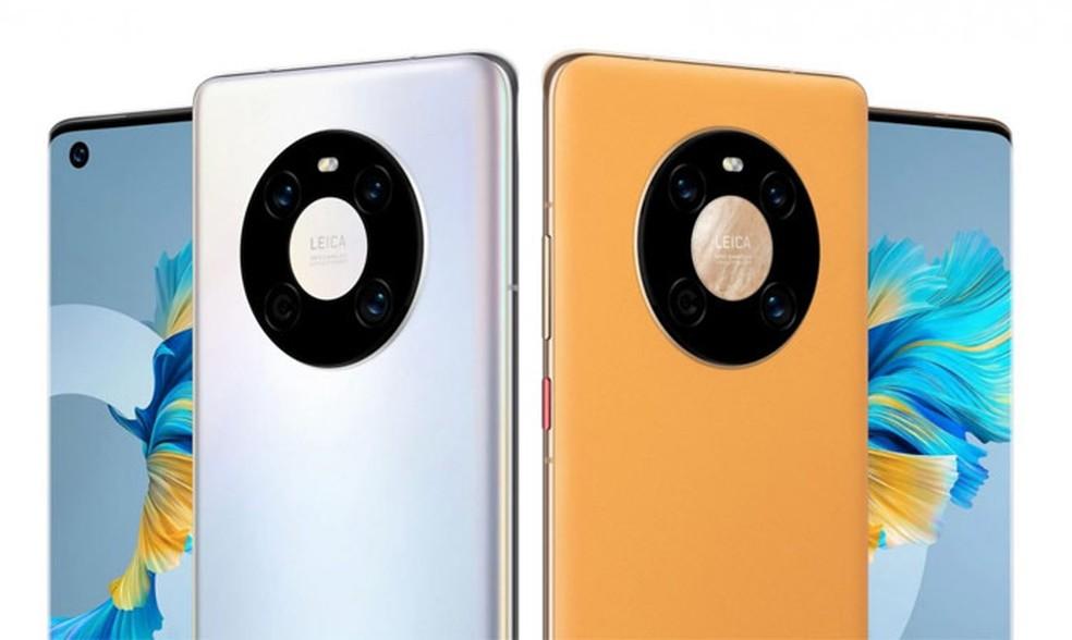 Huawei Mate 40 possui tela de 90 Hz — Foto: Divulgação/Huawei
