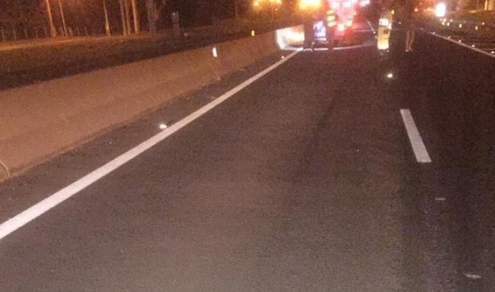 Atropelamento foi na Rodovia Raposo Tavares (SP-270) — Foto: Polícia Rodoviária