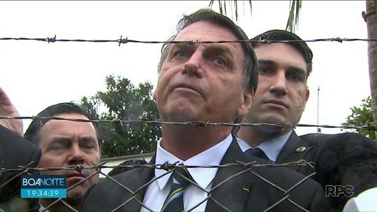 Presidente Jair Bolsonaro visita o Paraná e fala sobre mudanças na CNH e radares