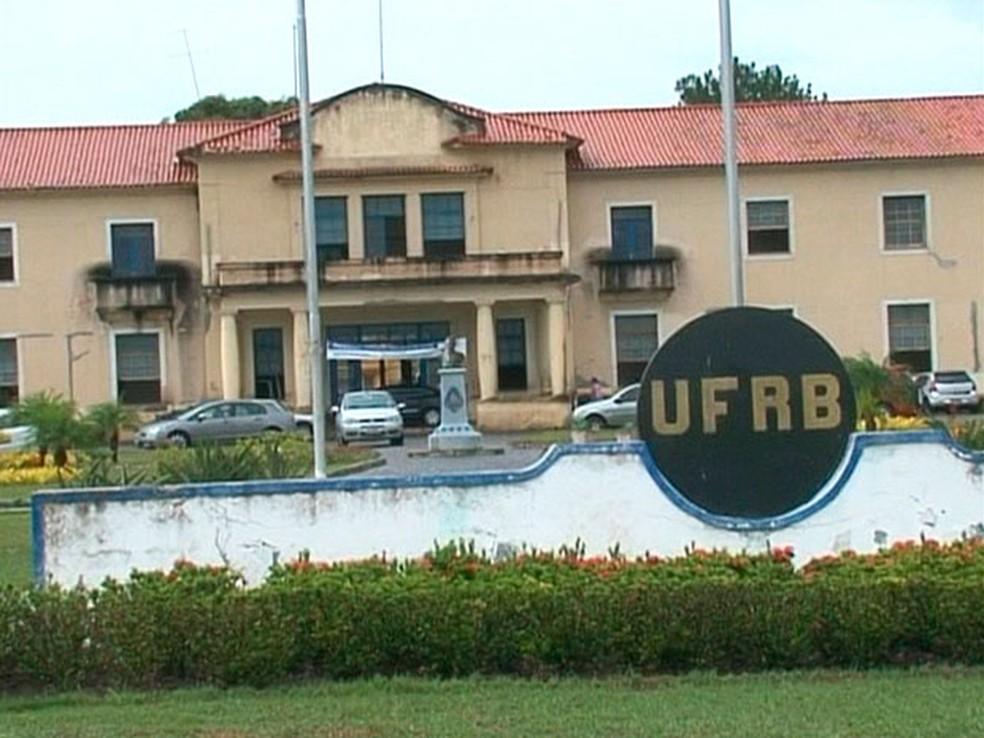 UFRB — Foto: Reprodução/TV Subaé