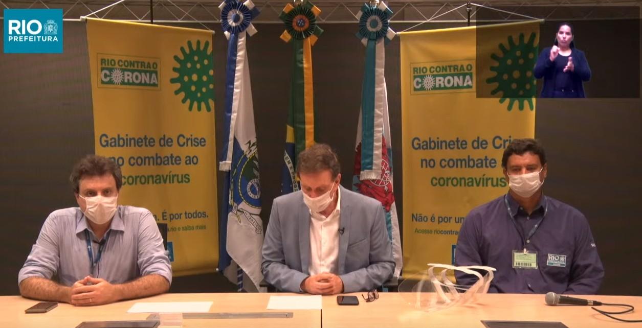 Primeiro teste do novo coronavírus em Crivella dá negativo