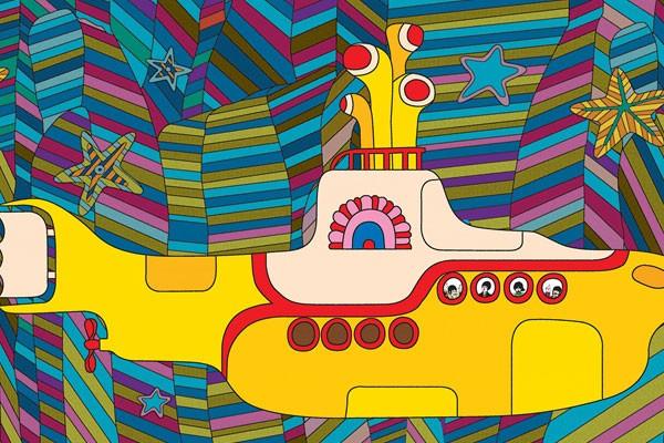 Imagem do filme Yellow Submarine (Foto: Reprodução)