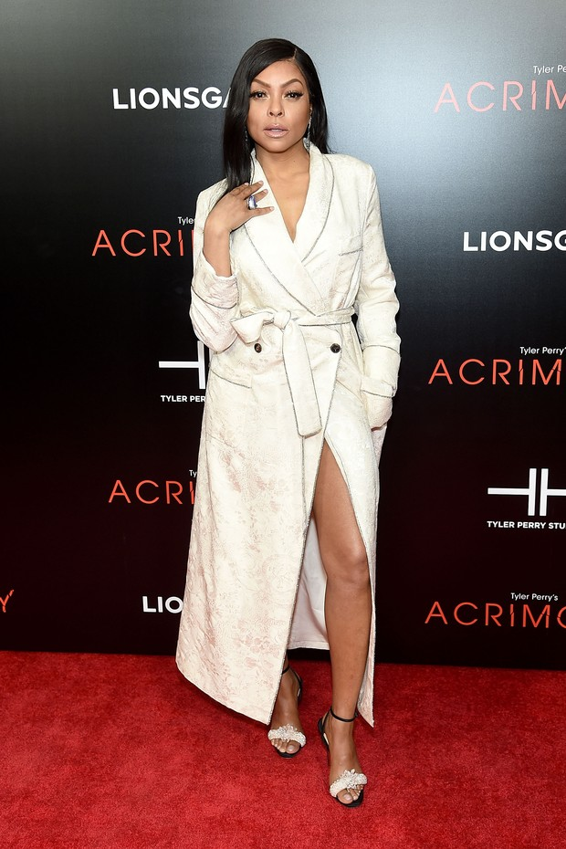 "NEW YORK, NY - MARCH 27:  Taraji P. Henson attends the ""Acrimony"" New York Premiere on March 27, 2018 in New York City.  (Photo by Jamie McCarthy/Getty Images) (Foto: Getty Images)"