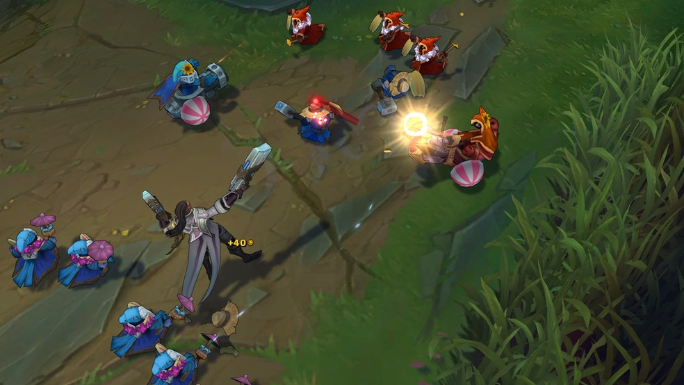 Knowing how to farm is essential for League of Legends. (Image: Riot Games)