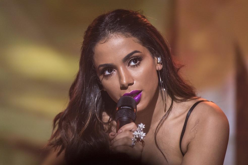 Anitta participará do 'The Voice Brasil' na próxima segunda, 17/9 (Foto: João Cotta/Globo)