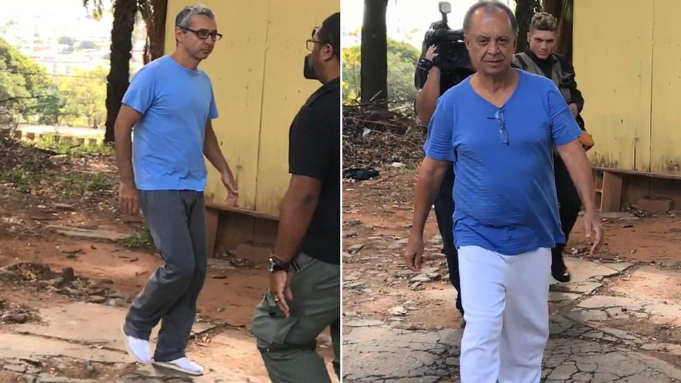 Resultado de imagem para Primo de Aécio e assessor de Perrella deixam prisão em Belo Horizonte