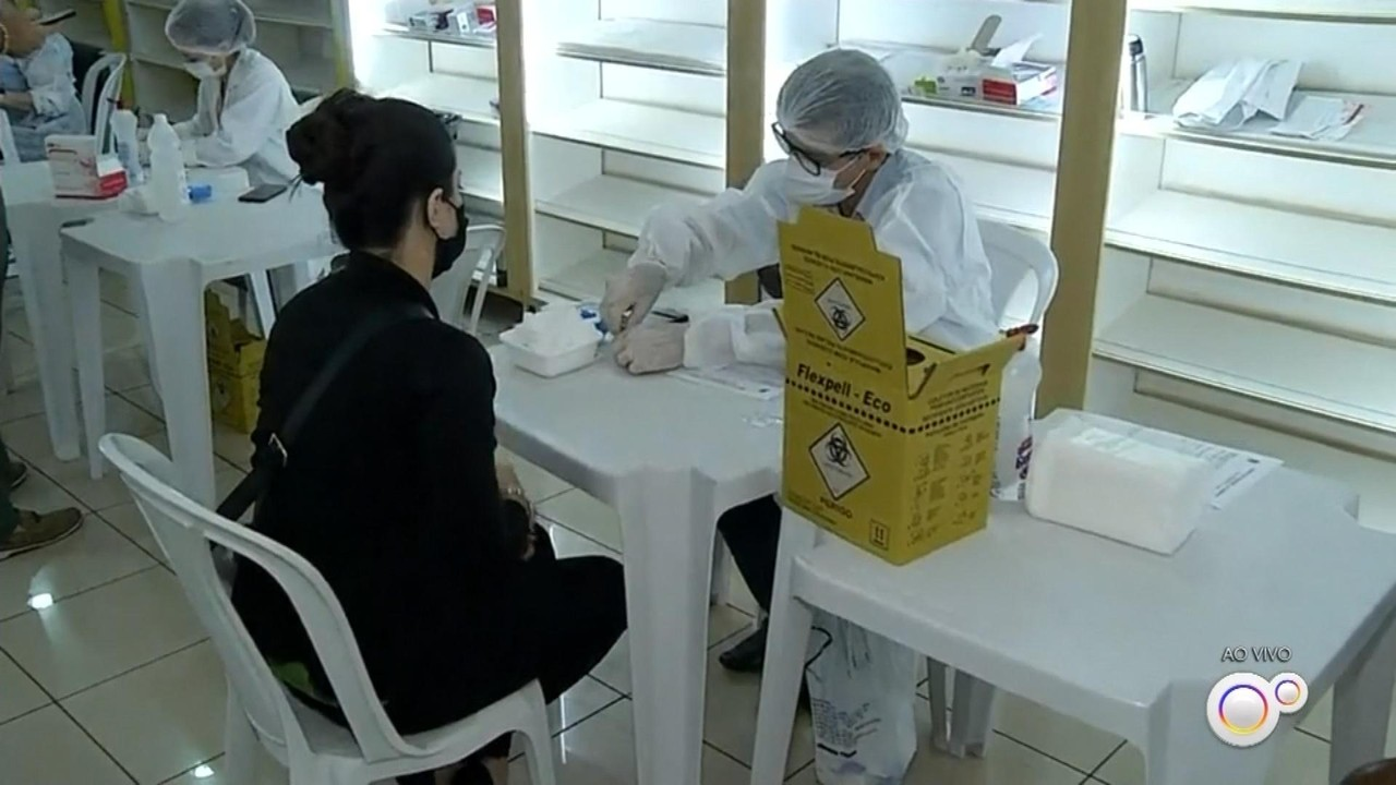 Ourinhos realiza testagem em massa de Covid-19 de lojistas e funcionários do comércio