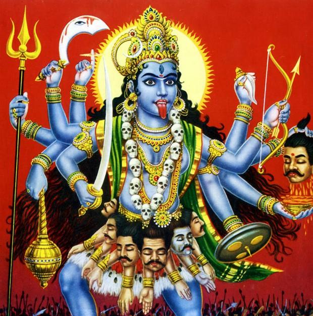Kali, a deusa hindu que representa a força atual das mulheres (Foto: Reprodução/Instagram)