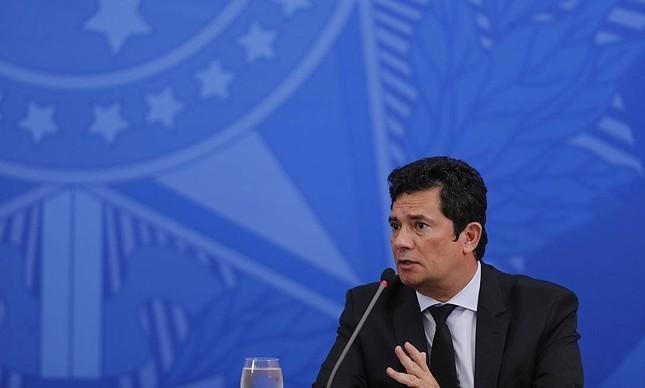 O ex-ministro Sergio Moro
