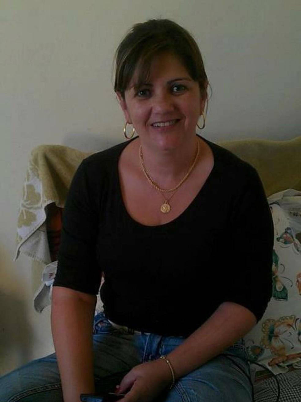 Cidinha Andrade foi morta pelo marido em São José dos Campos — Foto: Arquivo Pessoal