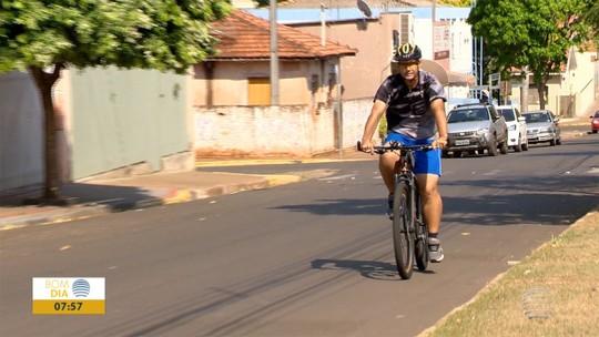 Susto com a saúde faz operador começar história de amizade com a bike e emagrecer mais de 50kg