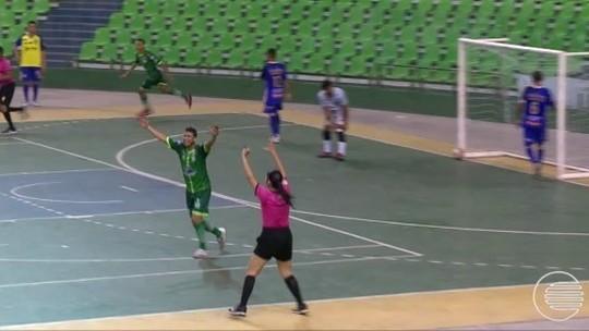 Campo Largo conquista o segundo turno do Campeonato Piauiense de Futsal