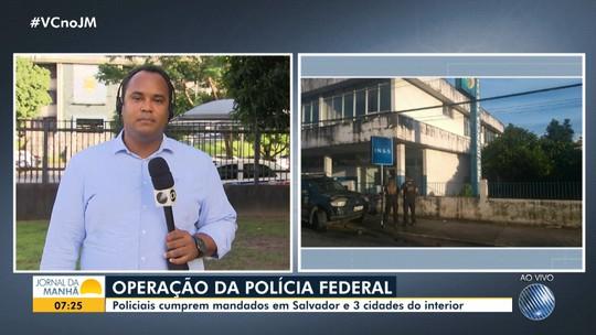 PF cumpre mandados em quatro cidades baianas para combater fraudes em benefícios do INSS