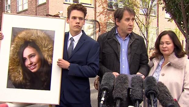 Família de Natasha passou a fazer campanha pela mudança na regulação britânica (Foto: BBC)