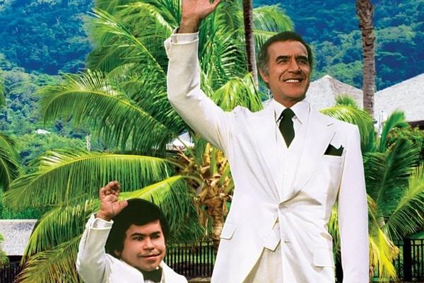 Os protagonistas da série Ilha da Fantasia (1977-1984) (Foto: Reprodução)