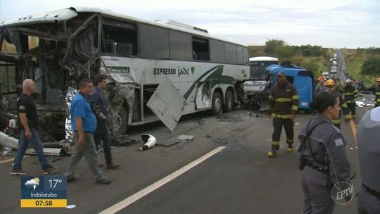 Motorista do caminhão que se acidentou em Jaú é velado em Américo Brasiliense