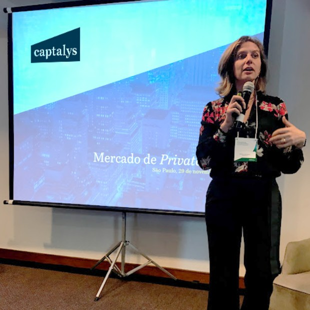 Margot Greenman, presidente-executiva e co-fundadora da Captalys (Foto: Facebook/Captalys)