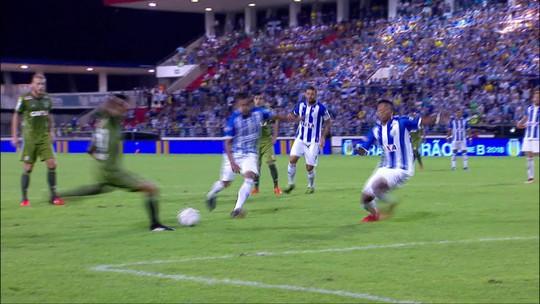 Os gols de CSA 2 x 2 Coritiba pela 13ª rodada do Campeonato Brasileiro da Série B