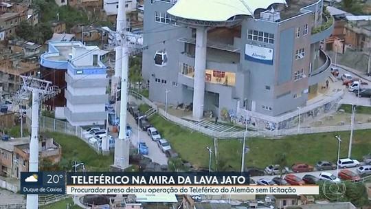 Procurador preso por propina em obra do metrô do Rio é investigado por dar aval para Teleférico do Alemão sair sem licitação