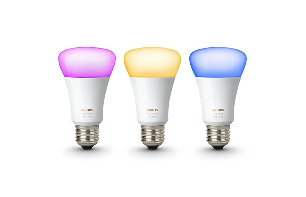 As lâmpadas inteligentes podem ser grandes aliadas para diminuir o consumo de energia em casa — Foto: Divulgação/Philips