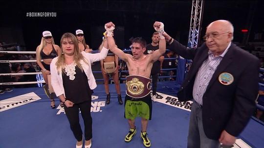 Velasquez põe fim à invencibilidade de Paulo Soares e leva título latino da WBO