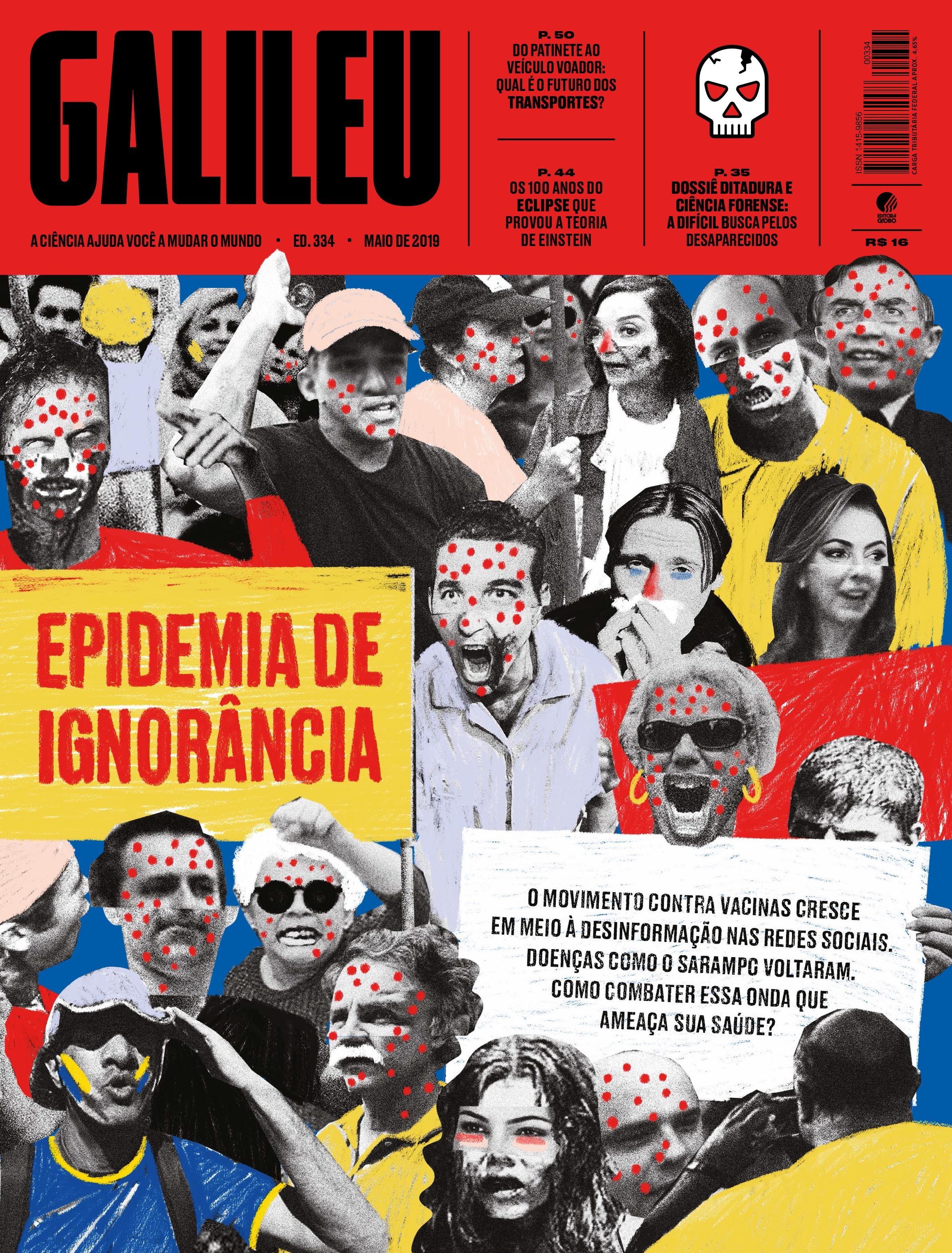 Capa edicao maio 2019 Galileu (Foto:  )