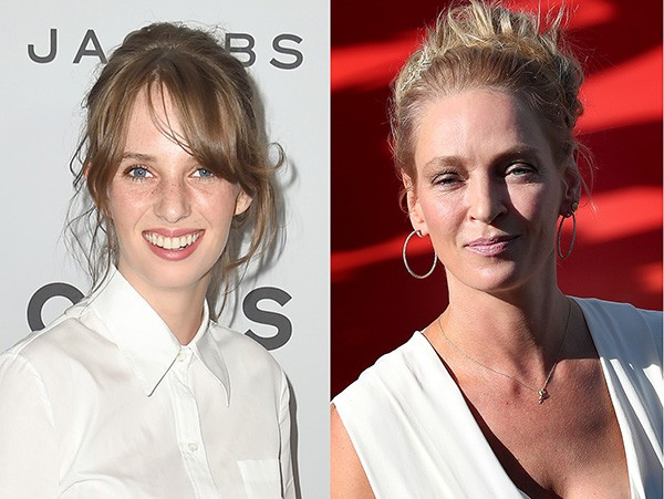Maya Thurman-Hawke e Uma Thurman (Foto: Getty Images)