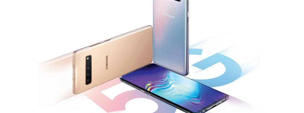 A Samsung irá lançar o primeiro modelo de celular que permitirá navegar com rede 5G , o Galaxy S10 5G. (Foto: Divulgação: Samsung )