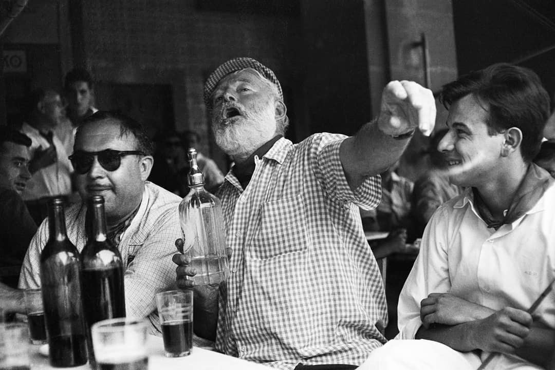 Hemingway e La Floridita, um caso de amor (Foto: Reprodução/Instagram @kamini.cocktail.bar)
