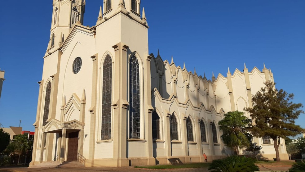 Diocese de Ourinhos vai retomar as missas presenciais e celebrações públicas  — Foto: Adolfo Lima/ TV TEM