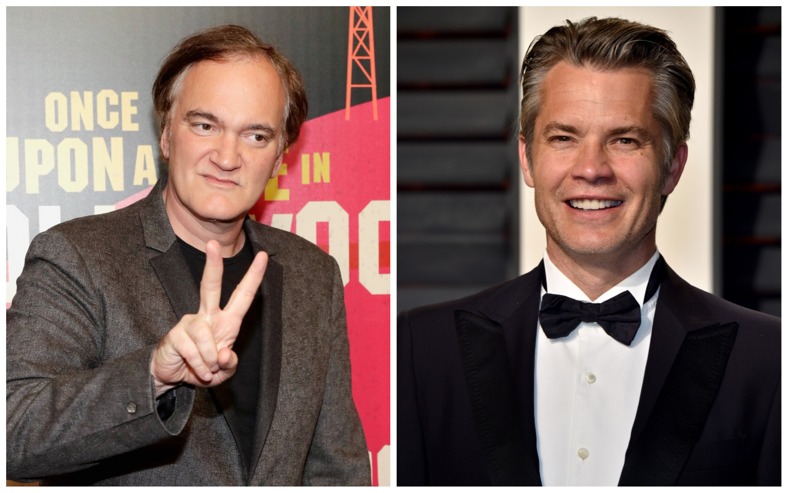 Quentin Tarantino e Timothy Olyphant (Foto: Getty Images)