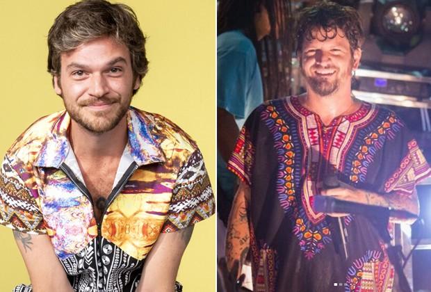 Emílio Dantas e Saulo Fernandes (Foto: Divulgação/TV Globo e Reprodução/Instagram)