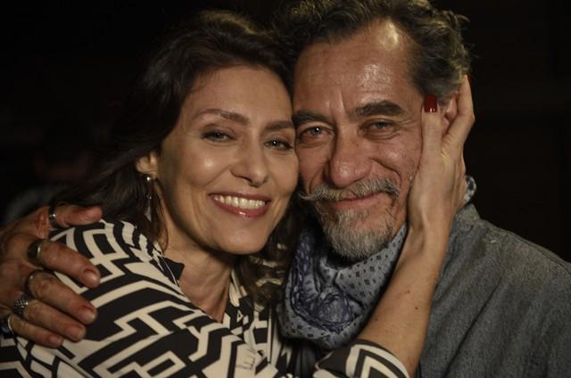 Maria Fernanda Cândido e Chico Diaz (Foto: Divulgação)