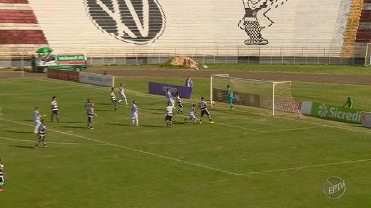 Raio-X: veja em números como Guarani e XV marcam e sofrem gols na Série A2