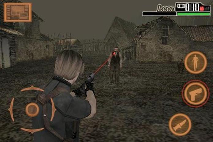 Versão mobile de Resident Evil 4 resume o quarto jogo, mas mantém muitos elementos das versões maiores (Fotos: Divulgação)